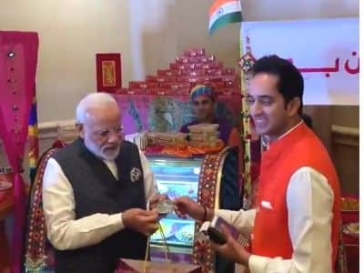 PM Modi Launches RuPay Card in UAE, Buys 1 kg Laddoos