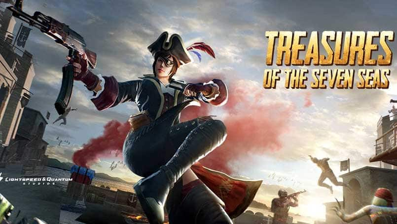 PUBG Mobile Seven Seas update: Here's a look at the new pirate themed sets