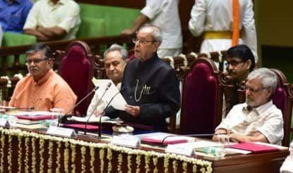 Parliamentary Democracy Didn't Come Easily to us: Pranab Mukherjee