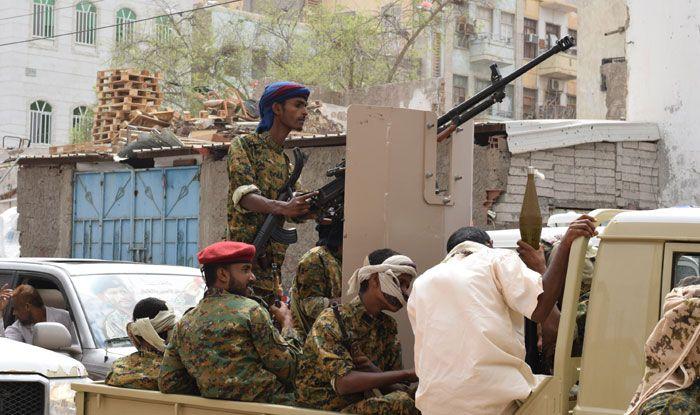 Saudi Arabia, Yemen, Aden, Yemeni government