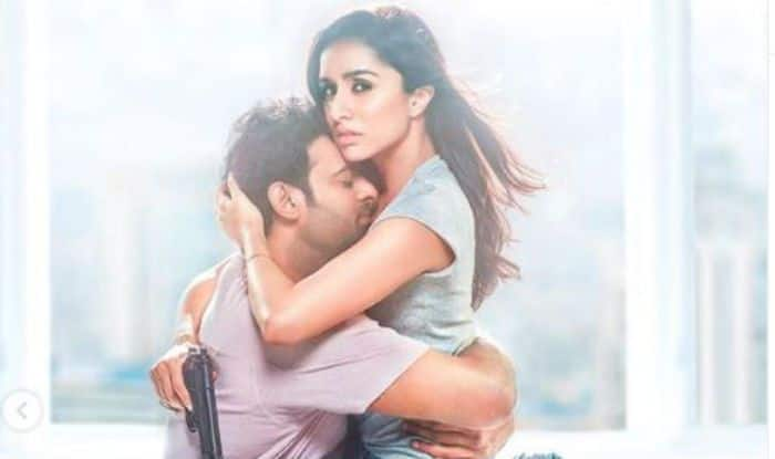 Saaho's New Poster Show Prabhas and Shraddha Kapoor's Sizzling Chemistry
