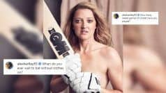 'Naked Games?' English Teammate TROLLS Sarah Over Her Bold PIC | POST