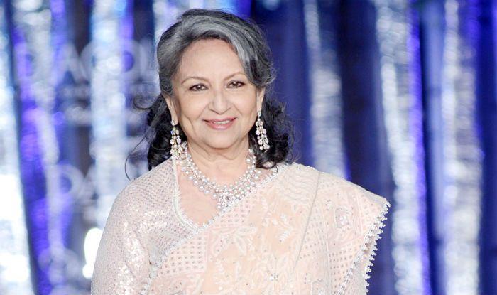 Sharmila Tagore walks the ramp at fashion show