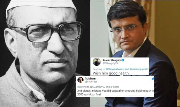 Sourav Ganguly, Sourav Ganguly records, Sourav Ganguly trolled, Sourav Ganguly wishes Late Haryana Chief Minister, Dada, Former India captain Sourav Ganguly, Indian Cricket Team, BCCI, Cricket News