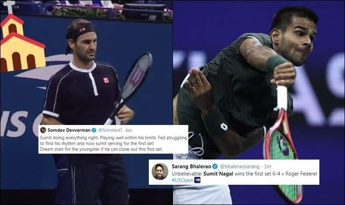 US Open, US Open Round 1, Arthur Ashe Stadium, Roger Federer vs Sumit Nagal, Sumit Nagal Rank, Roger Federer ranking, US Open live, US Open live streaming, Tennis News, Who is Sumit Nagal