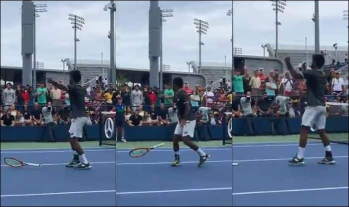 US Open, US Open Round 1, Arthur Ashe Stadium, Roger Federer vs Sumit Nagal, Sumit Nagal Rank, Roger Federer ranking, US Open live, US Open live streaming, Tennis News, Who is Sumit Nagal, Sumit Nagal reaction after winning first set