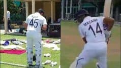 WATCH: Team India Players Step Out on Field in New Test Numbered Jerseys For First-Time Ever