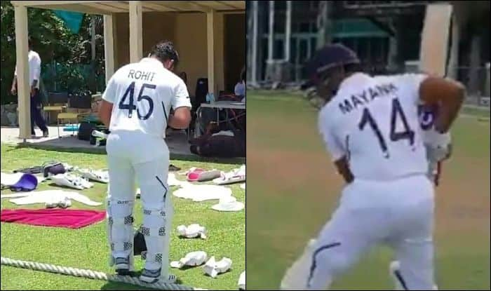 Ind vs WI-A, WI-A vs Ind 3-day warm-up game, India vs West Indies A, West Indies A vs India, Rohit Sharma, Indian Cricket Team, Team India, Team India numbered jersey, New Test Jersey, Team India's new Test jersey, Cricket News, Cheteshwar Pujara