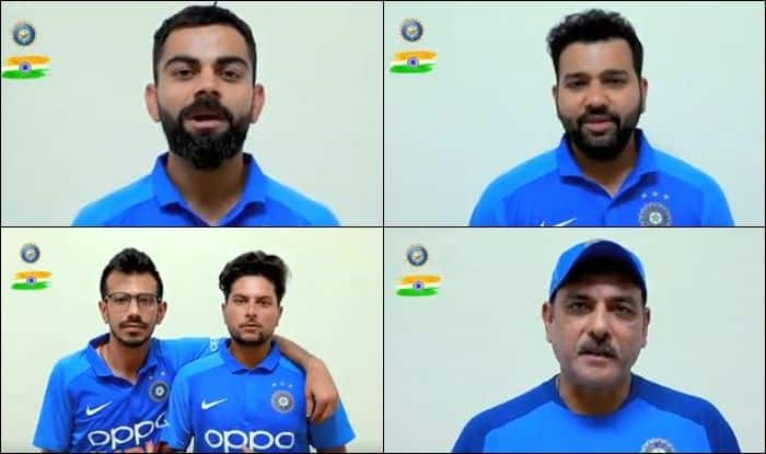 Independence Day 2019, How Team India Cricketers Wished Fans, Virat Kohli, Kedar Jadhav, Rohit Sharma, Bhuvneshwar Kumar, I-Day, 15th of August, 15th August, Cricket News, India vs West Indies, Ind vs WI, WI vs Ind, Team India wish fans Happy Independence Day, Happy Independence Day, India captain Virat Kohli, Ravi Shastri, Tricolour, Jai Ho, Indian Cricket Team