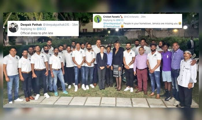 India vs West Indies, Team India members visit Indian High Commission in Jamaica, Indian High Commissioner's Residence in Jamaica, Team India official dinner, 2nd Test, Jamaica, Virat Khli, Team Indi, Indian Cricket Team, WI v Ind, Cricket News