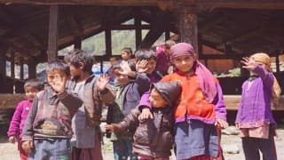 On a Trek to The Remote Village of Kalap in Garhwali Himalayas