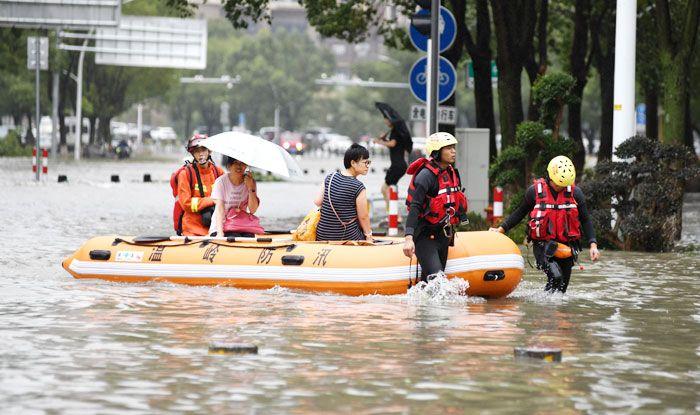 United Nations, China, Typhoon Lekima, Shanghai, Zhejiang, Shandong