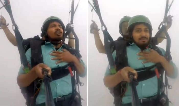 Bhai Bas Land Kara De: This Viral Video of a Man Paragliding Will Make You Laugh so Hard, Inspires Hilarious Memes