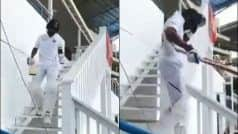 WATCH: 'King' Kohli Receives a 'Virat' Reception at Antigua