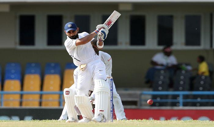 India vs West Indies 1st Test, Virat Kohli, Ajinkya Rahane, Kohli-Rahane Fifties vs West Indies, Ishant Sharma, Roston Chase, Kemar Roach, IND vs WI Day 3 Report, India vs West Indies Day 3 Match Report, Cricket News, Team India, Antigua Test