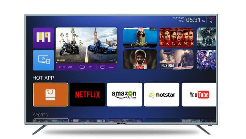 Weston 43-inch and 55-inch smart TVs launched in India, price starts from Rs 20,999