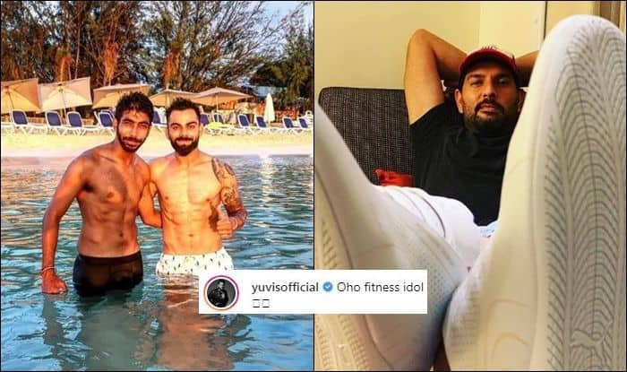 Yuvraj Singh, Yuvraj Singh trolls Jasprit Bumrah, Virat Kohli, Jasprit Bumrah abs, Mumbai Indians, India vs West Indies, Ind vs WI, WI vs Ind, Indian Cricket Team, Antigua, India vs West Indies 1st Test, Cricket News
