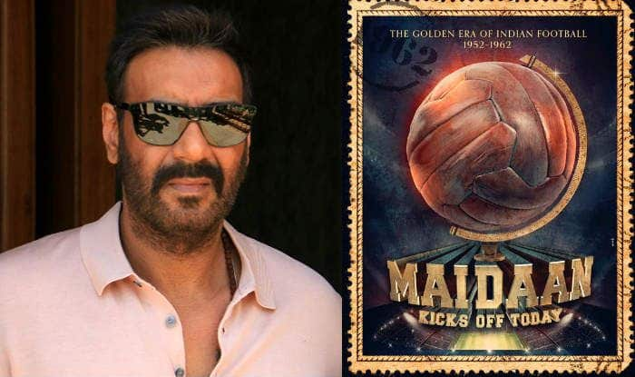 Ajay Devgn as Syed Abdul Rahim in Amit Sharma's Maidaan With Keerthy Suresh – First Poster Out