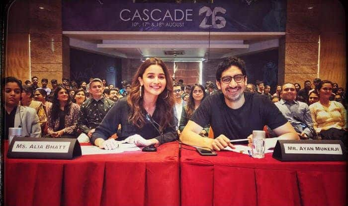 Alia Bhatt And Ayan Mukerji Rejoice Their Back-to-School Moment With a Happy Picture