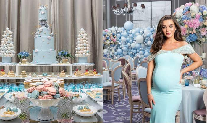 Inside Photos: Amy Jackson's Blue-Themed Baby Shower Was Straight From The World of Magic