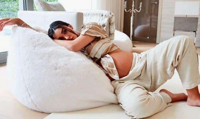 Amy Jackson Stuns in Her Latest Instagram Post, Flaunts Baby Bump in 35th Week of Pregnancy