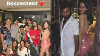 Ananya Panday Parties With Aryan Khan And Other Friends in a Sexy Pink Dress – Viral Pics