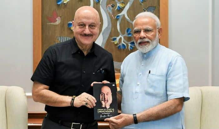 Anupam Kher Shares His Autobiography With PM Narendra Modi, Thanks Him For Teaching Lessons