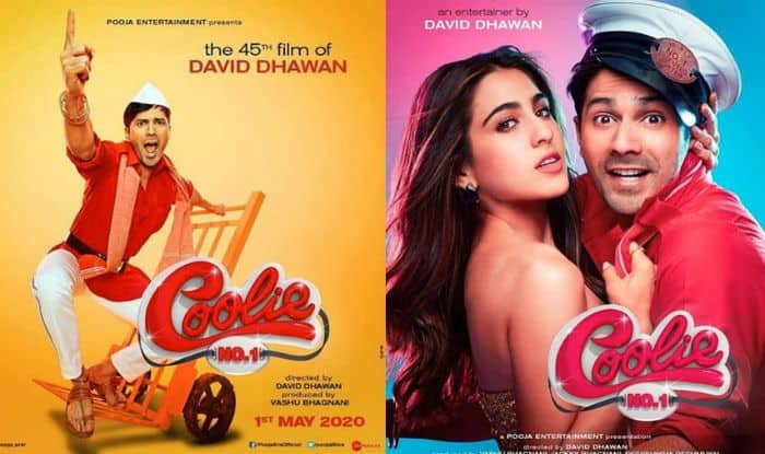 Coolie No. 1 First Poster: Varun Dhawan And Sara Ali Khan Give a Sneak Peek of Raju and Malti's Look