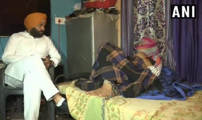 Punjab MP Visits Woman Who Chained Drug Addict Daughter, Assures Help