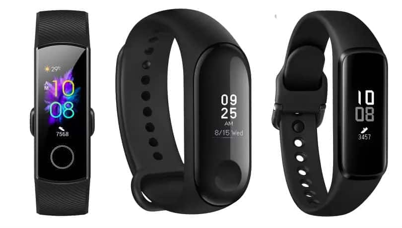 Top fitness bands under Rs 3,000 to buy in India in August 2019