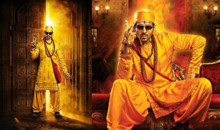 Bhool Bhulaiyaa 2 First Look: Kartik Aaryan Looks Exactly Like Akshay Kumar in His Yellow Toga
