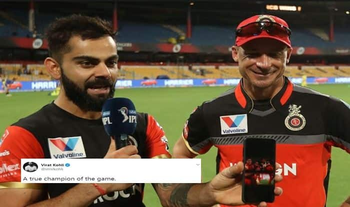 Virat Kohli wishes Dale Steyn happy retirement, Daler Stetn turns 36, Virat Kohli calls Dale Steyn a True champion, South African pacer Dale Steyn Retires, South Africa cricket team, Cricket News