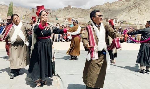 Ladakh BJP MP Jamyang Tsering Namgyal Breaks Into Dance at I-Day Celebrations in Leh | Watch