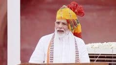 Independence Day Speech: पीएम मोदी ने  कहा- अनुच्छेद 370 खत्म कर पटेल के सपने को पूरा किया