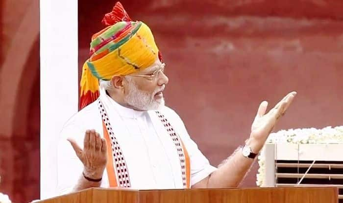 Narendra Modi Red Fort