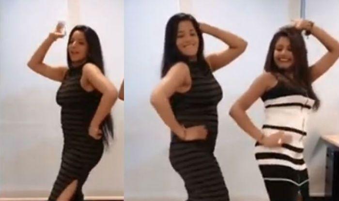 Bhojpuri Hottie Monalisa Flaunts Her Sexy Moves on 'Chammak Challo Chail Chabili' – Watch Viral Video