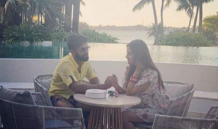 TMC MP Nusrat Jahan with husband Nikhil Jain in Mauritius
