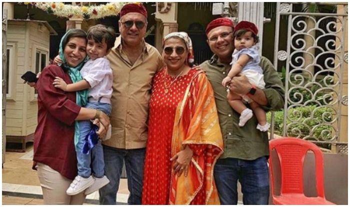 Boman Irani and family wishes fans 'Navroz Mubarak'
