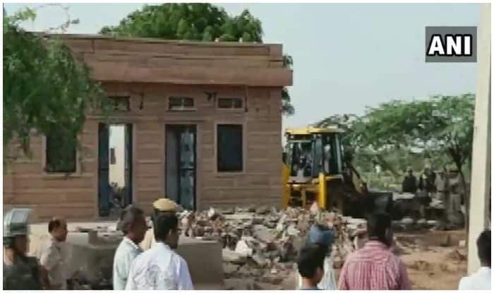 Rajasthan: JCB Operator Dies After Clash Breaks Out During Anti-encroachment Drive