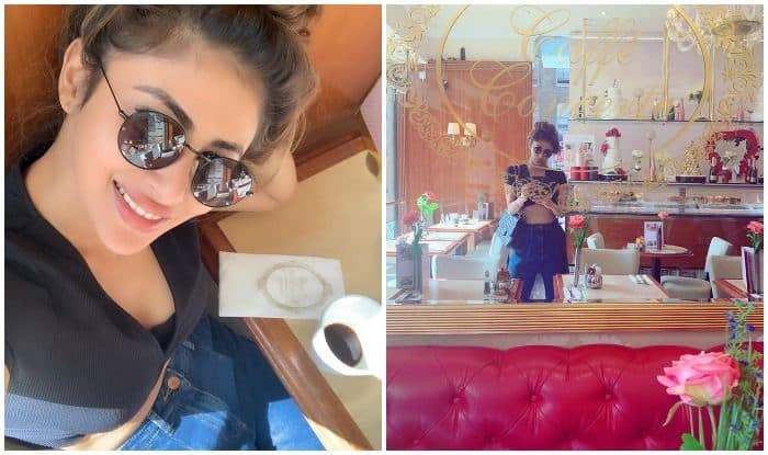 Mouni Roy in Europe