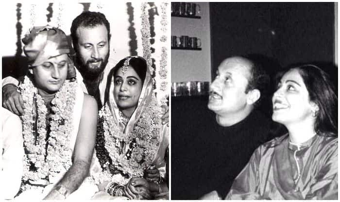 Kirron Kher and Anupam Kher share throwback pictures on 34th wedding anniversary