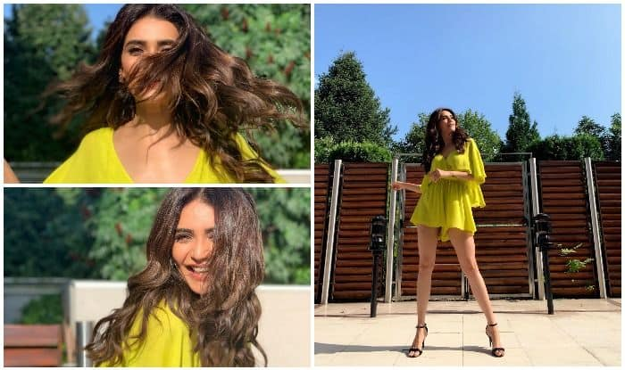 Karishma Tanna in Bulgaria for Khatron Ke Khiladi's shoot