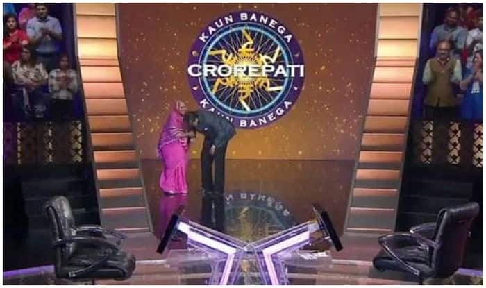 Whose Feet Did Amitabh Bachchan Touch For Blessings on KBC 11?