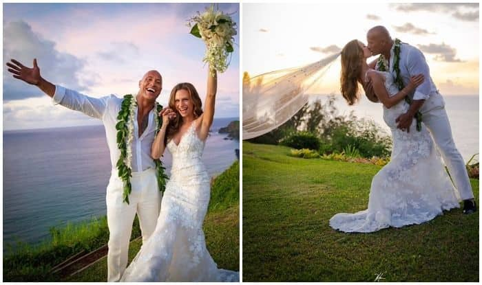 Dwayne 'The Rock' Johnson gets married to 'The Game Plan' co-star Lauren Hashian in Hawaii