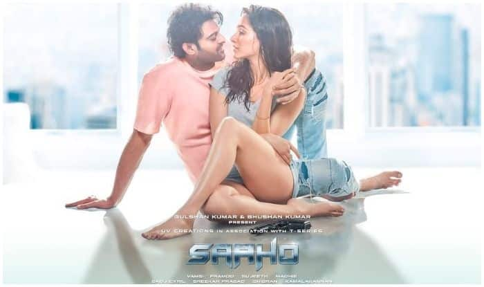 Shraddha Kapoor and Prabhas on new poster of Saaho