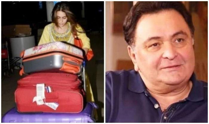 Rishi Kapoor praises Sara Ali Khan for her no airport look