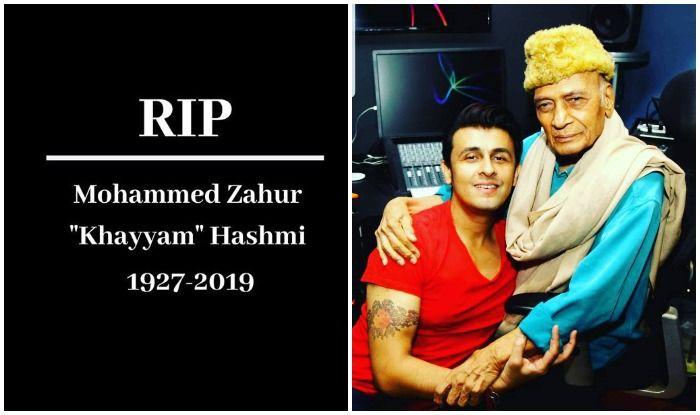 Bollywood celebrities pay their condolences to Khayyam