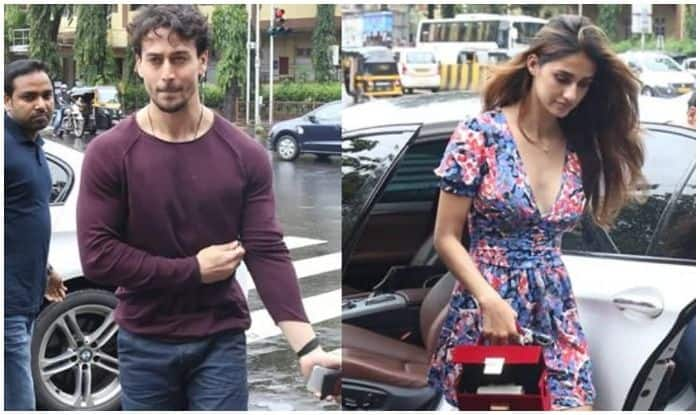 Tiger Shroff and Disha Patani head out for lunch date in Mumbai rains on Friendship Day
