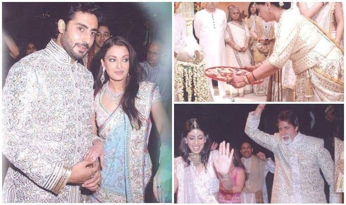 Indian designer duo Abu Jani and Sandeep Khosla treat fans to rare and unseen pictures of Aishwarya Rai Bachchan-Abhishek Bachchan's wedding ceremonies