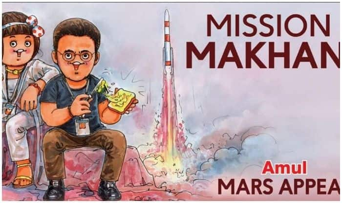 Amul pays its creative tribute to Mission Mangal, Taapsee Pannu acknowledges
